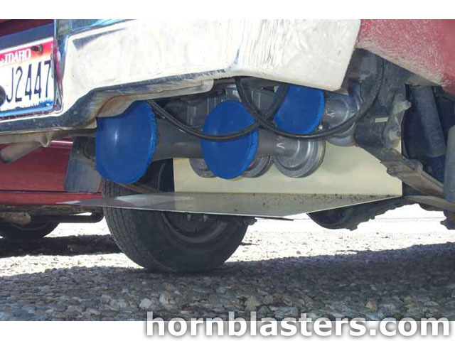 how to install train horn in car