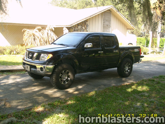Shawn's 2005 Nissan Frontier King Cab