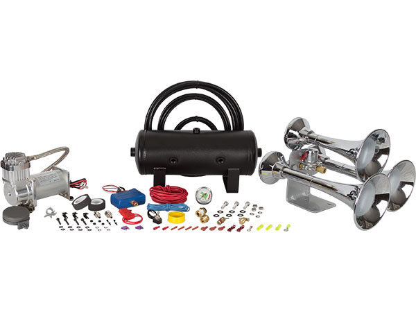 Outlaw Chrome 232 Train Horn Kit