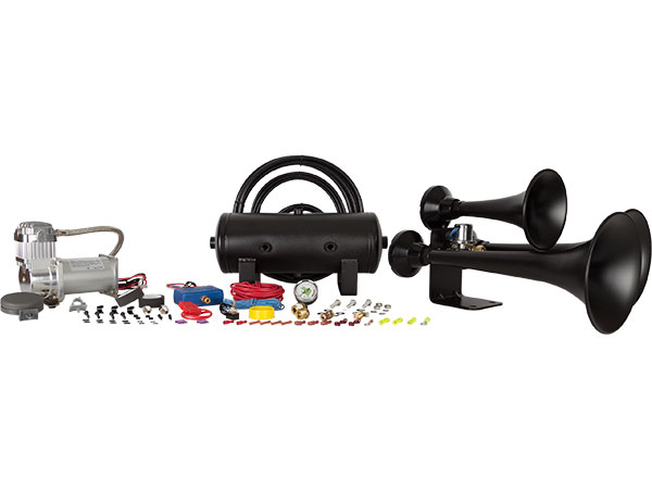 Outlaw Black 232 Train Horn Kit